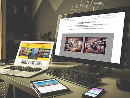 Création de votre site internet par Studio Maybe