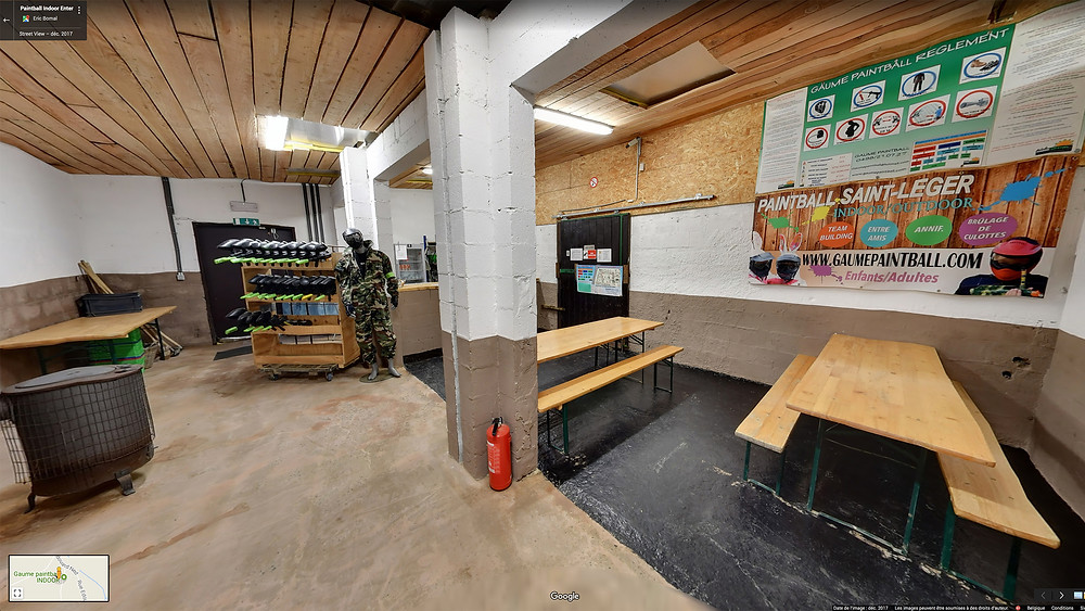 Gaume Paintball Indoor by Studio Maybe