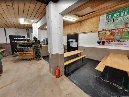 Visite virtuelle Gaume Paintball Indoor