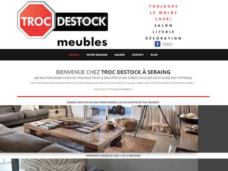 Création du site Troc-destock meubles