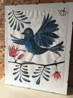 Vandut. Dancing bird