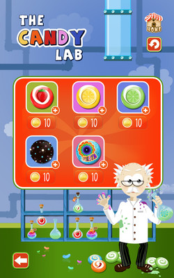 Candy Lab Page