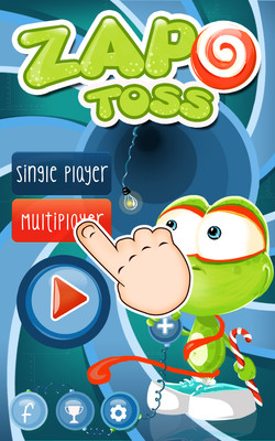 Zapo Toss Landing Page v1