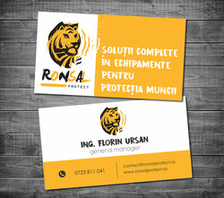 business card Ronsal