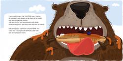 Bear - the pancake eater