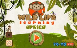 Wild Africa Landing Page