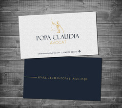 Layer business card
