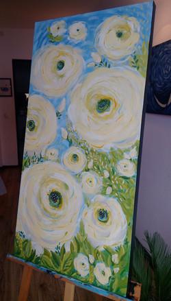 Vandut. Abstract flowers
