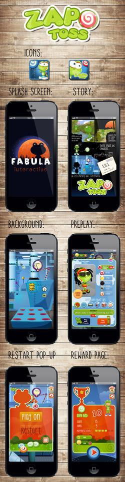 Zapo-Toss game