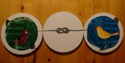 Vandut. Composition of 3 small parts