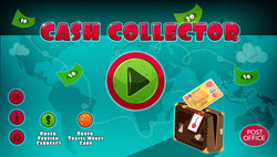 Cash Collector Landing Page