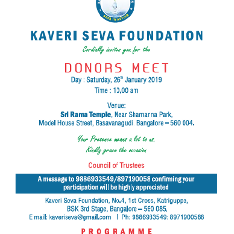 Donors Meet