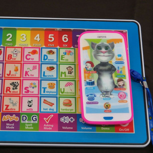 Baby & Kids Educational Learning Tablet and Cell Phone Gift for Kids