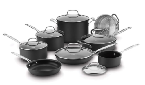 Cuisinart 66-14N Chef's Classic 14 Piece Nonstick Hard Anodized Cookware