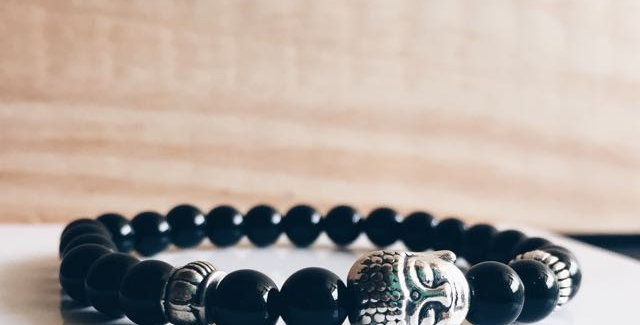 Peace & Serenity Onyx Bracelet