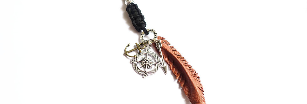 Boho Believe Feather Long Necklace