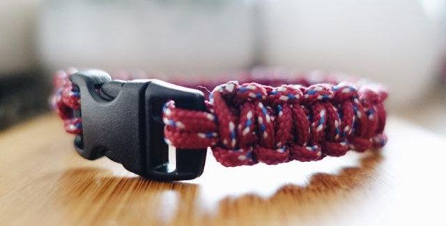 Braided Heather Mini Cord Bracelet
