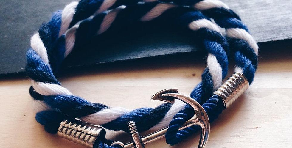 BBW Silver Anchor Bracelet