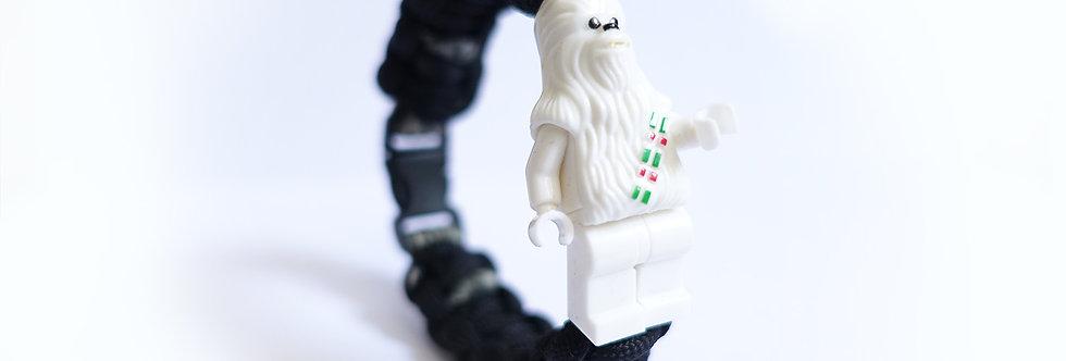 Star Wars Chewbacca Brick Figurine Braided Bracelet