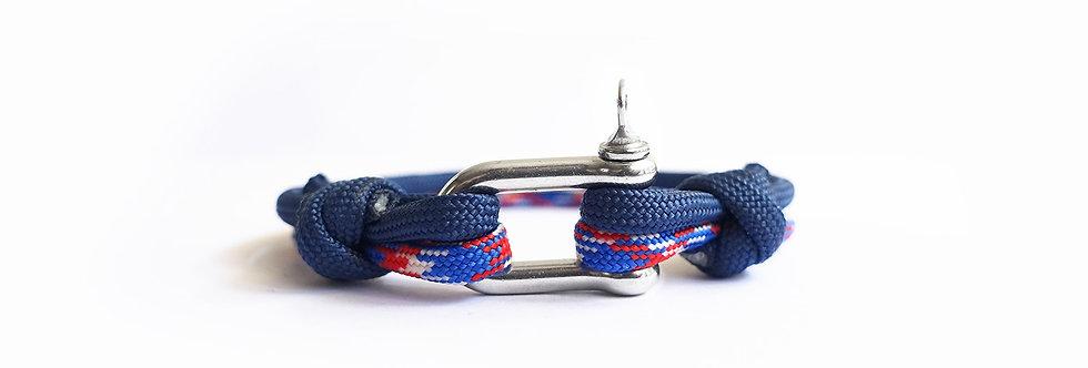 Royal Azure XX Nautical U-hook Bracelet