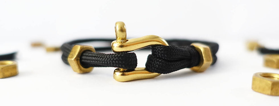 Black Goldie Nut Bracelet