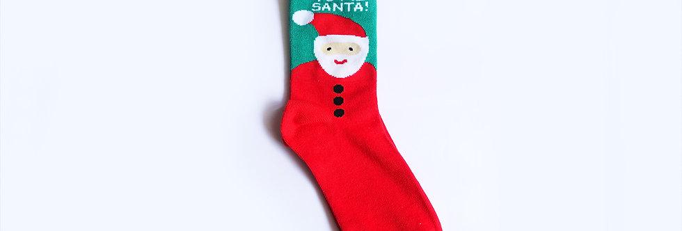Sock it to me Santa! Sock