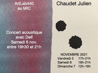 Portes-ouvertes Atelier les 5, 6 & 7 novembre 2021