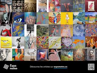 Expo dans le métro parisien 16-22.06.2020