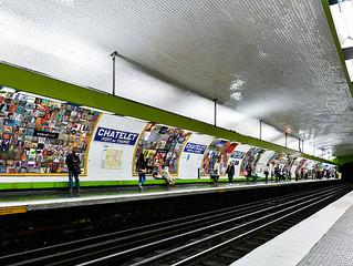 Expo dans le métro parisien 11-17.12.2018