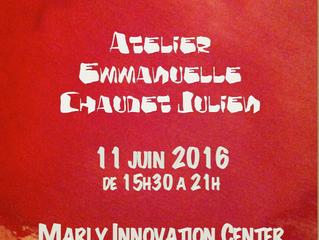 Portes ouvertes Atelier 11 juin 2016