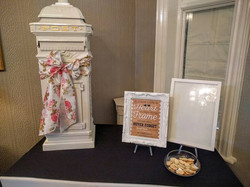Postbox and Gift Table