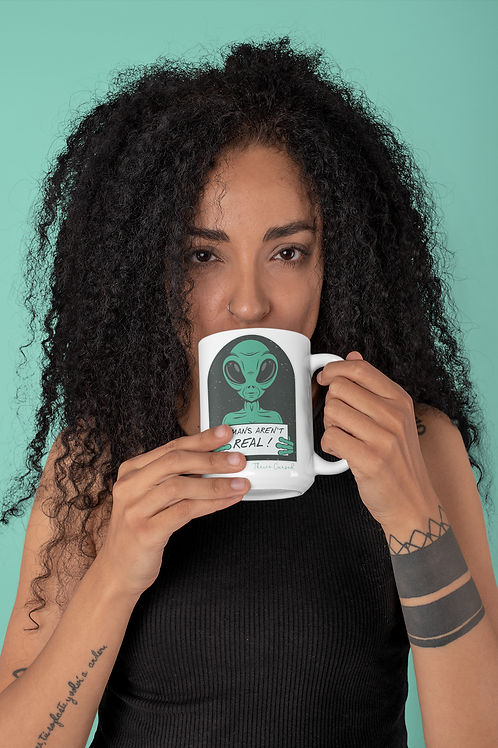 Humans Aren't Real Mug