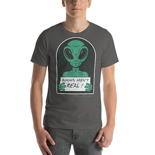 Humans Aren't Real Colorful Tees Plus