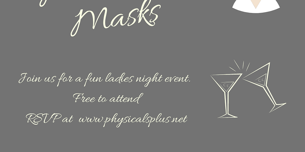 Martinis and Masks Event