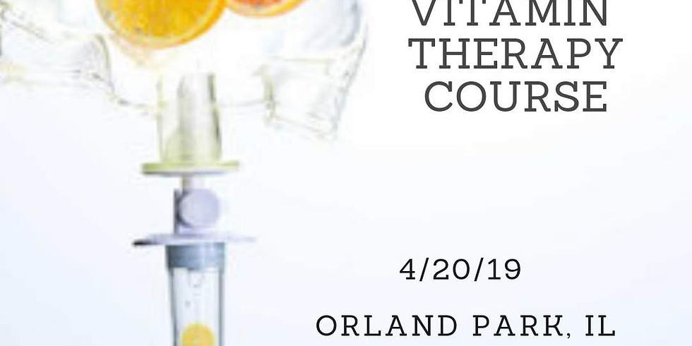 Vitamin therapy course