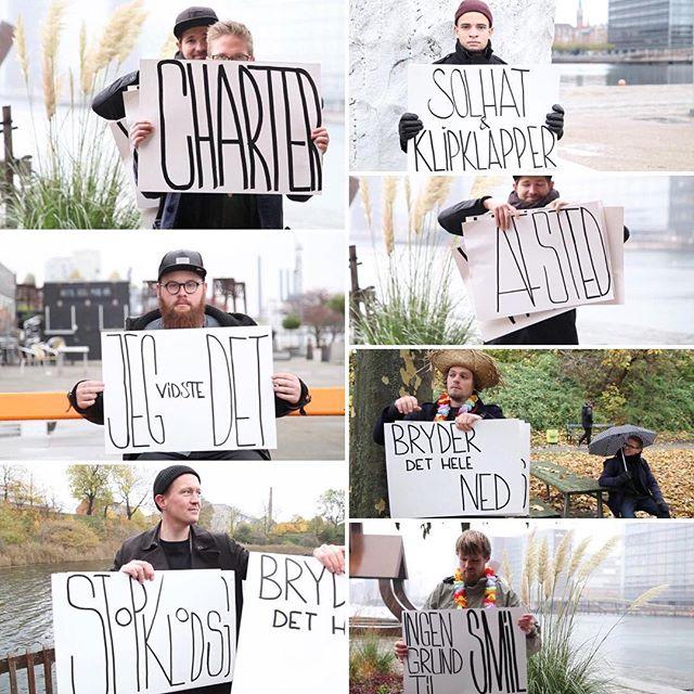 På torsdag dropper 'Charter'. Første single og video fra vores nye plade der udkommer primo marts