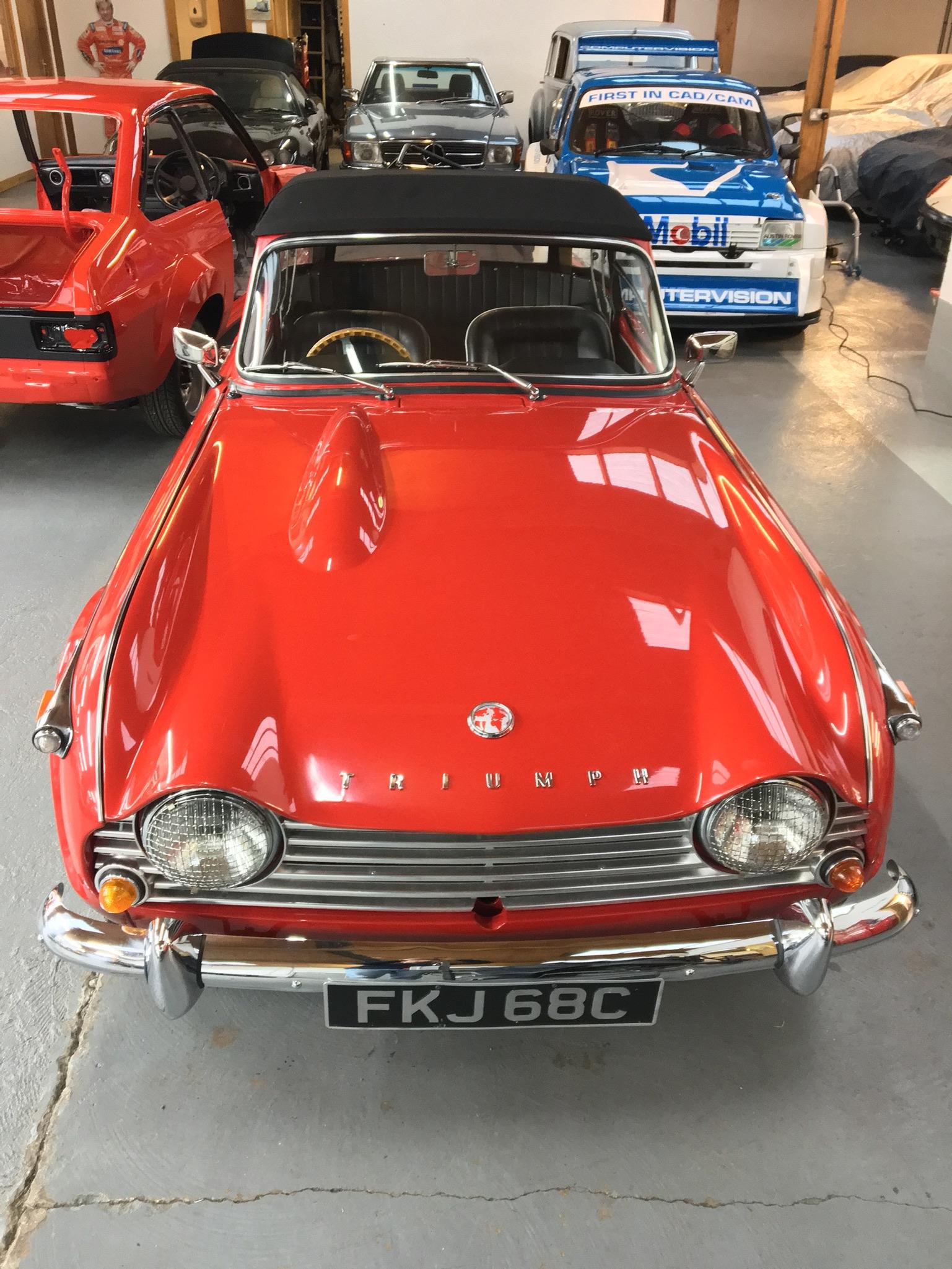 Triumph TR4A for sale - Fantastic condition!