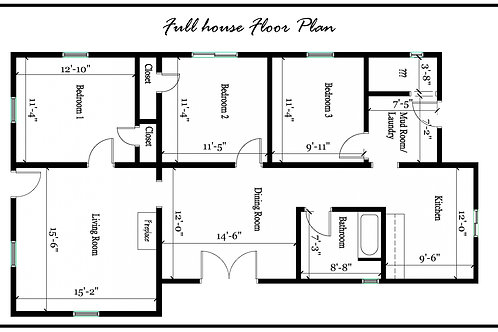 Full House Floor Plan