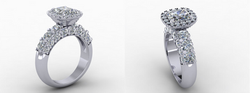 Cad Design of customers final ring