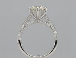Finished custom designed ring