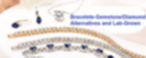 bracelet diamond alternatives lab grown