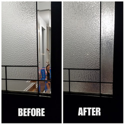Ice Chips Before & After