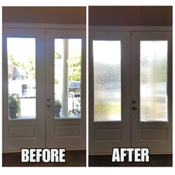 Rain Glass - Before & After (2)