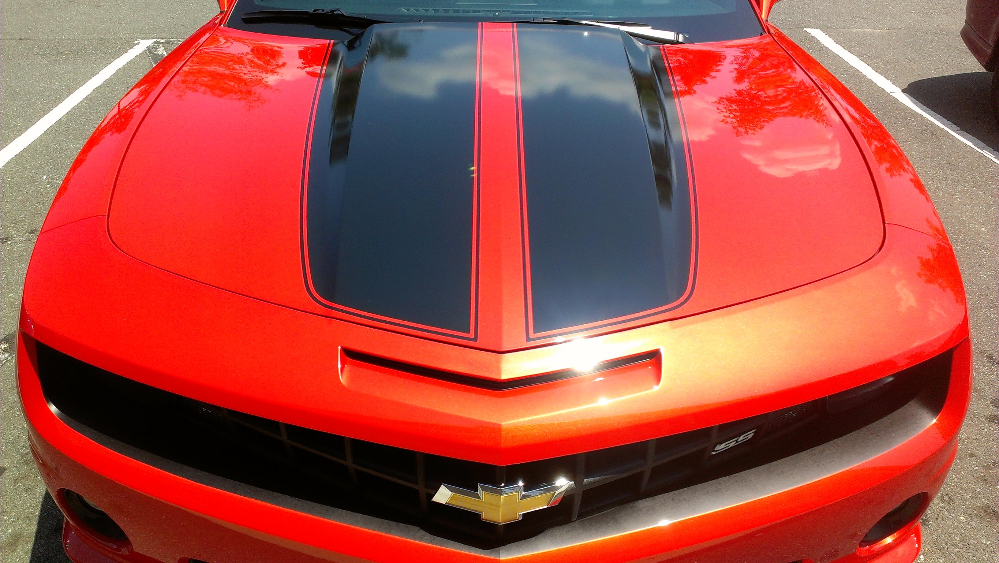 "Chevy Camaro ""SS"" OEM Style Stripes"