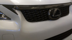 """""""Black Chrome"""" Wrap on Front Grill"""