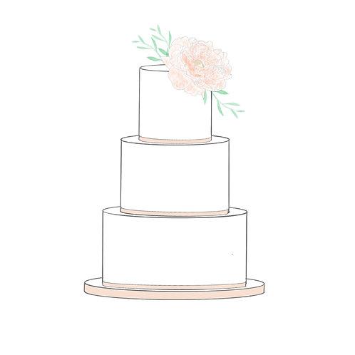 Digital Cake Designer Rose Pack