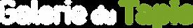 GALERIE DU TAPIS - logo horizontal blanc