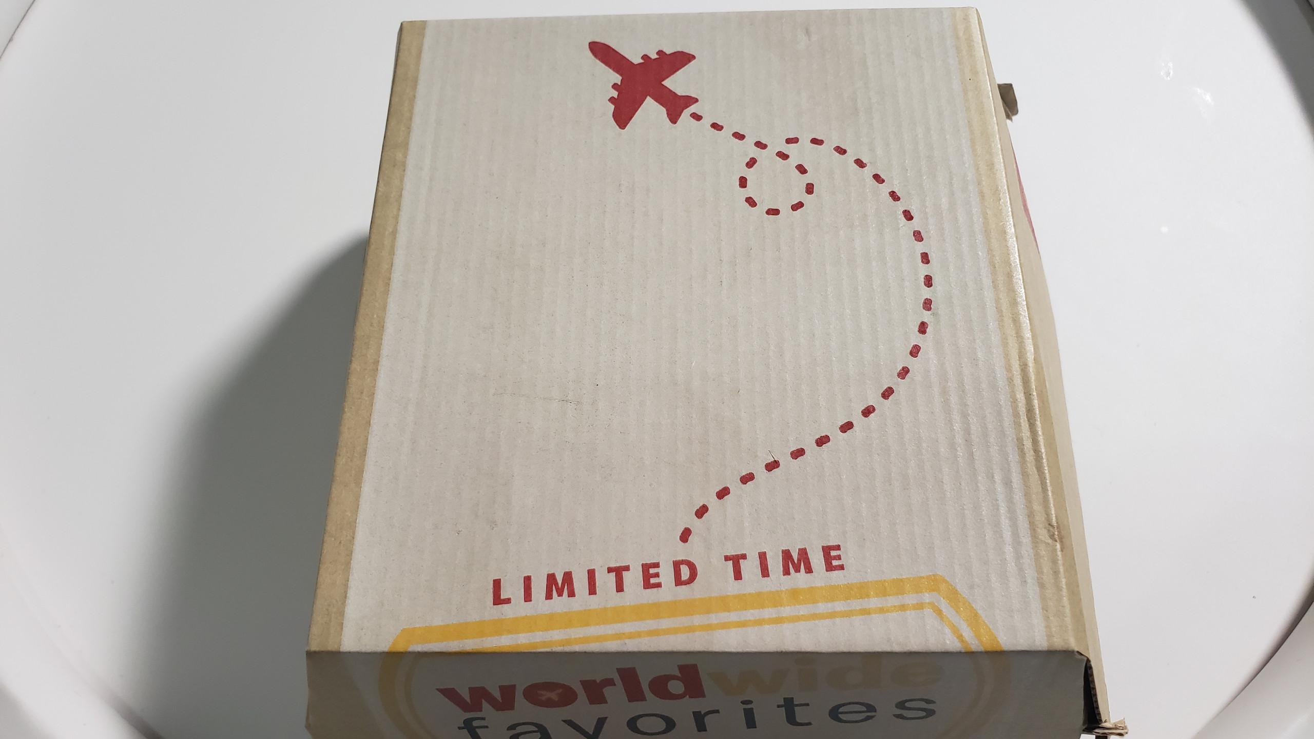 McDonald's Worldwide Favorites Box