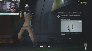 Absolver Bonemane Character Combat Style Selection