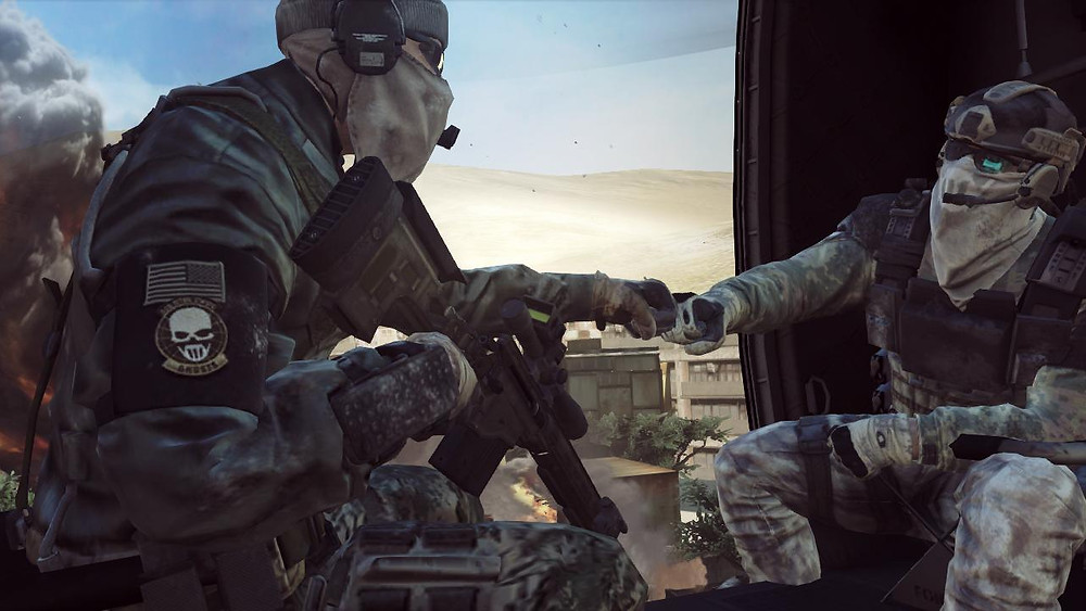 Ghost Recon Future Soldier brofist not pewdiepie